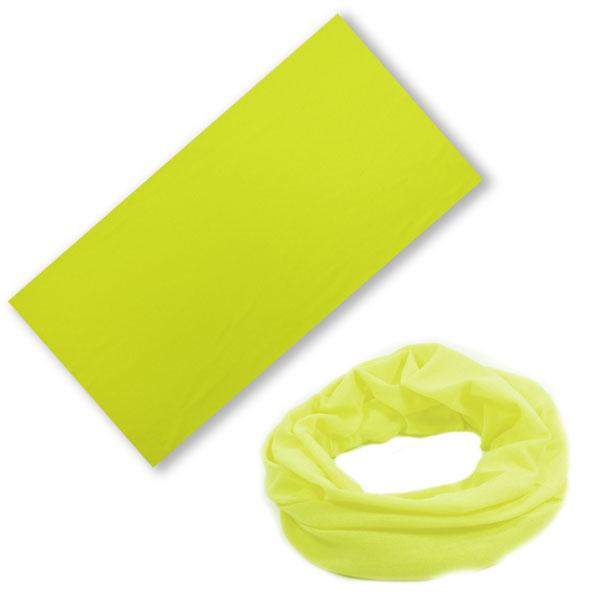 Бандана-трансформер лимонная